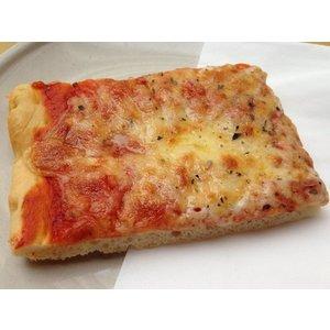 Pizza margherita al trancio