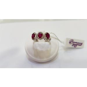 Gioielli donna anello Promesse rubini