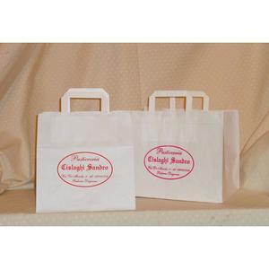 Sacchetti in carta Kraft bianco