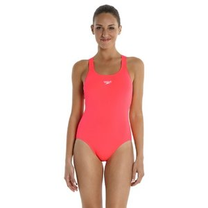 COSTUME SPEEDO DONNA Women's Endurance ® taglia ita 48 + Medalist Swimsuit arancio fluo