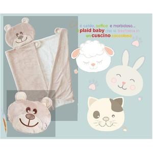 CUSCINO PLAID BABY MICROFIBRA 81981 BRANDANI
