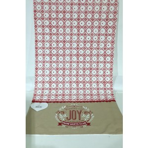 RUNNER NATALE IDEA REGALO LOVELY SHABBY 45x150 cm Joy