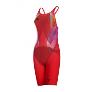 COSTUME GARA DONNA SPEEDO  LZR FASTSKIN RACER ELITE 2 OPENBACK KNEESKIN TG IT 32 GB 22 NOVITA'