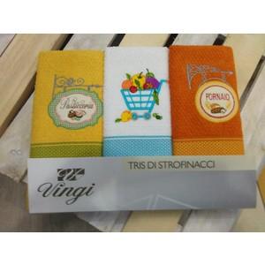 set 3 strofinacci boutique