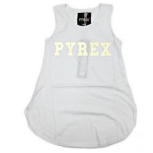 Canotta bianca Pyrex