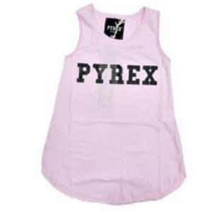 Canotta rosa Pyrex
