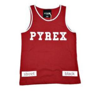 Canotta rossa Pyrex
