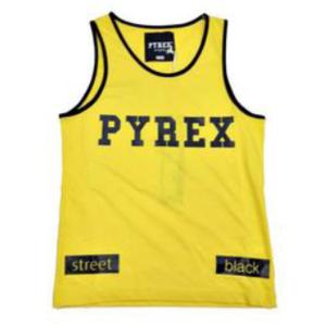 Canotta gialla Pyrex