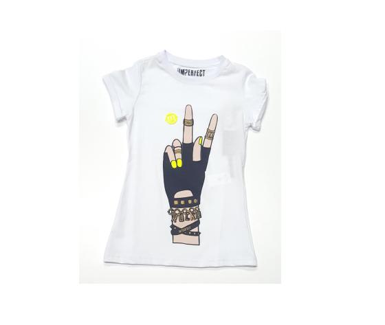 T shirt Imperfect bianco