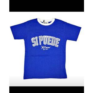COPY OF SE PUEDE  shirt blu