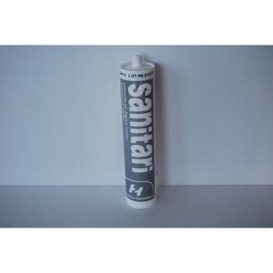 Sigillante siliconico acetico antimuffa colore bianco