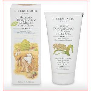 L'Erbolario Balsamo Dopo Shampoo al Miglio e alla Soia