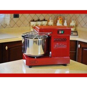 Impastatrice a spirale 5 kg elettrica - Famag Grilletta IM 5 Color - Rossa