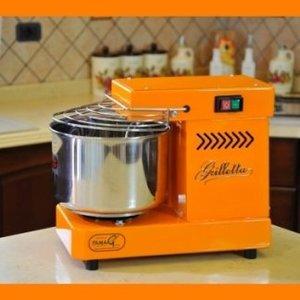 Impastatrice a spirale 5 kg elettrica - Famag Grilletta IM 5 Color - Arancione