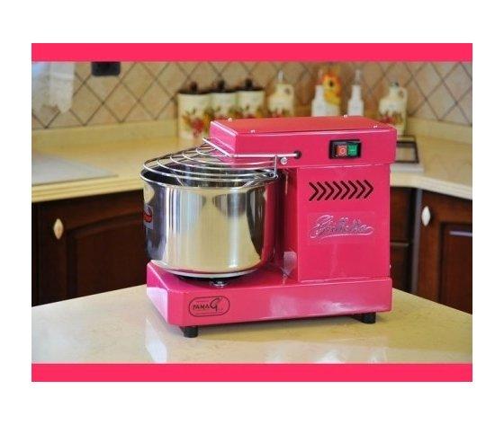 Impastatrice a spirale 5 kg elettrica - Famag Grilletta IM 5 Color - Rosa