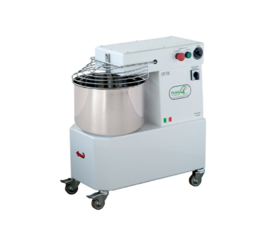 Impastatrice  IM 18 - 400 trifase, a spirale Famag 18 KG professionale vasca inox