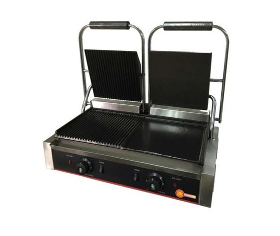 Piastra panini doppia liscia/rigata RS 574 Horecatech