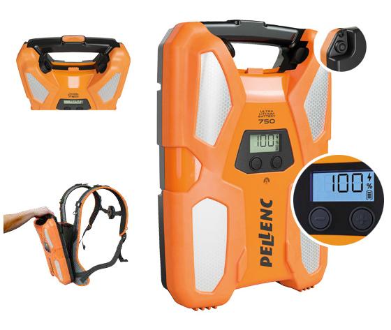 Batterie750 hotspot