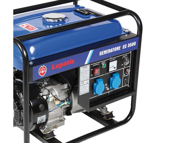 Generatori di corrente EC 3500 A (avv. a strappo ) Leporis