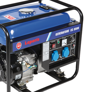 Generatori di corrente EC 3500 AE (avv.elettrico) Leporis