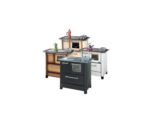 Nordica extraflame cucina a legno modello romantica 4 5