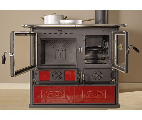 Rosa reverse wood burning cook stove