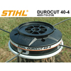 Testina stihl durocut 40 4 filetto 12 14 diametro 160 1091