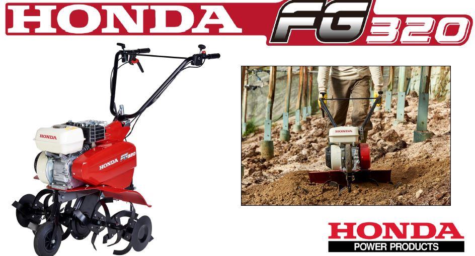 Motozappa honda fg 320 specifiche