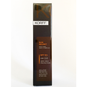 Korff Sun Secret SPF 50 + latte solare