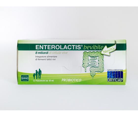 Enterolactis bevibile 12 flaconi 10ml