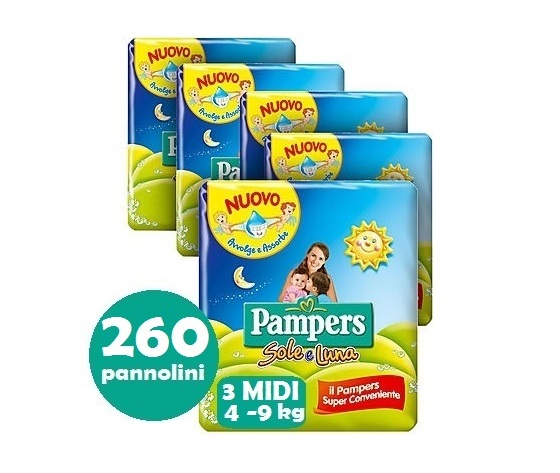 PAMPERS SOLE E LUNA 3