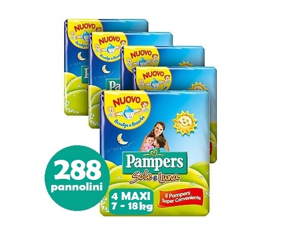 PAMPERS SOLE E LUNA 4