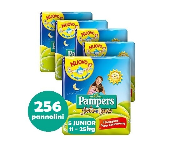 PAMPERS SOLE E LUNA 5