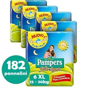 PAMPERS SOLE E LUNA 6