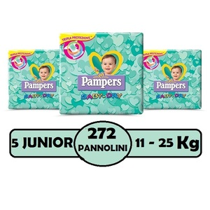 PAMPERS BABY DRY 5