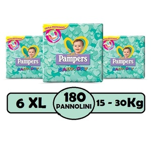 PAMPERS BABY DRY 6