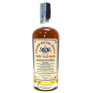 VELIER ROYAL NAVY- VERY OLD RUM