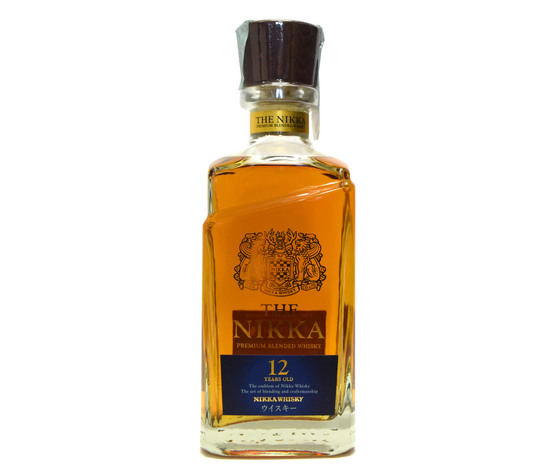 WHISKY THE NIKKA 12 YEARS OLD  SINGLE MALT