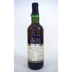 WHISKY W&M SHERRY CASK MALT