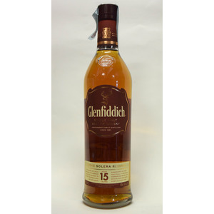 WHISKY GLENFIDDICH 15Y
