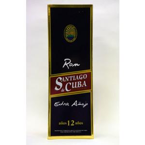 RON SANTIAGO DE CUBA 12Y