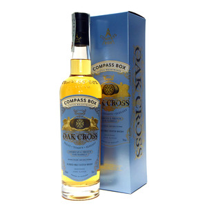 "WHISKY COMPASS BOX ""OAK CROSS"""