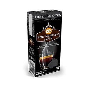 100pz Nero Barocco compatibile nespresso gusto fortissimo