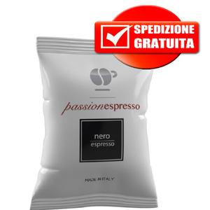 200pz lollo caffe' nero comp. nespresso gusto forte