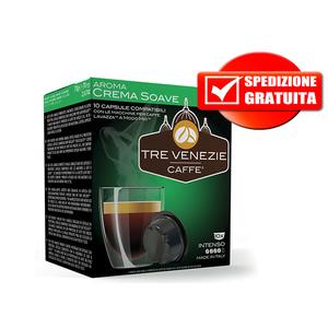 256pz Crema soave comp. lavazza a modo mio gusto intenso Tre Venezie