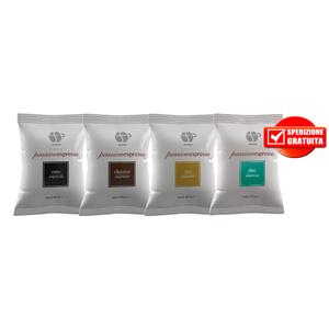 Kit 100pz Lollo Caffè per Nespresso