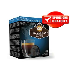 300pz Decaffeinato compatibile Lavazza A Modo Mio Tre Venezie