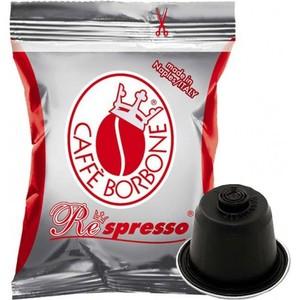 100pz borbone respresso rosso comp. Nespresso