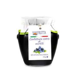 Confettura extra di mirtilli 350g