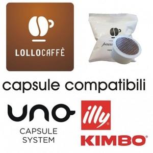 200pz Lollo Caffè Nero Uno System
